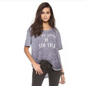 Free People Night Moves of New York Tee